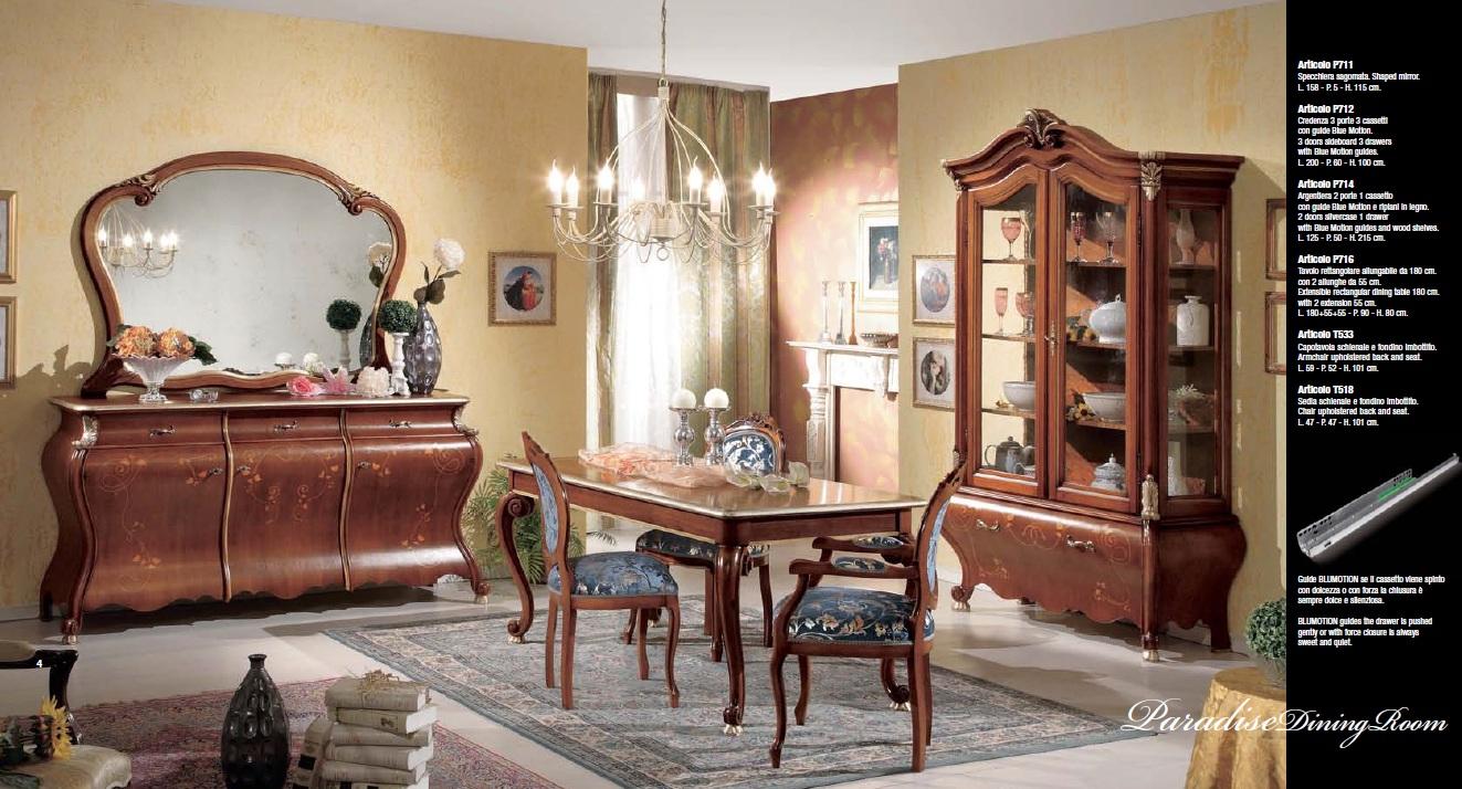 Credenza Camera Da Pranzo : Collezione paradise sala da pranzo e camera letto